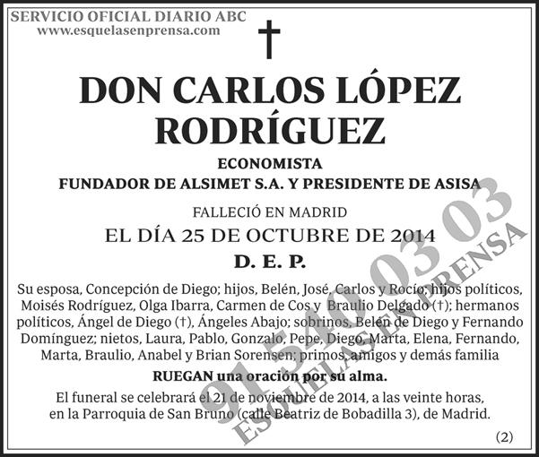 Carlos López Rodríguez